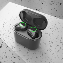 R5 TWS Bluetooth 50 Wireless Earphones Cordless Touch Control Surround Sound Stereo Earbuds Sports Headset With Charging Box