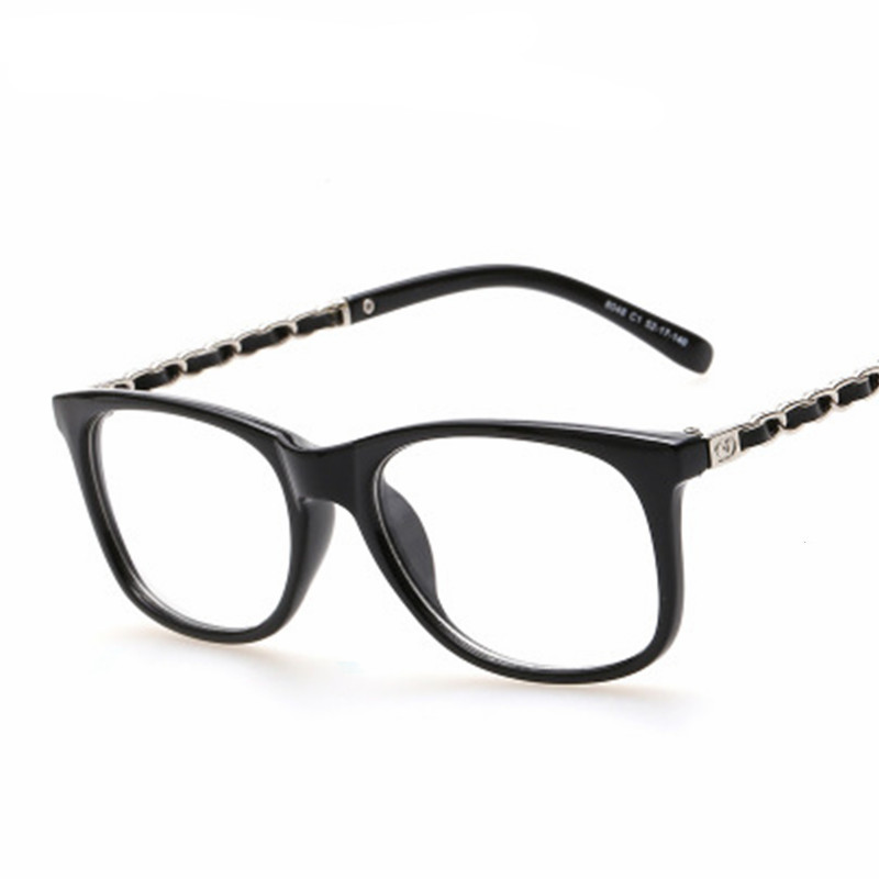 0459f8d48c Big Square Spectacles Fashion Ultra Light Flexible Acetate TR90 Glasses  Frames with Clip On Sunglasses For Lenses Degree-in Eyewear Frames from  Apparel ...