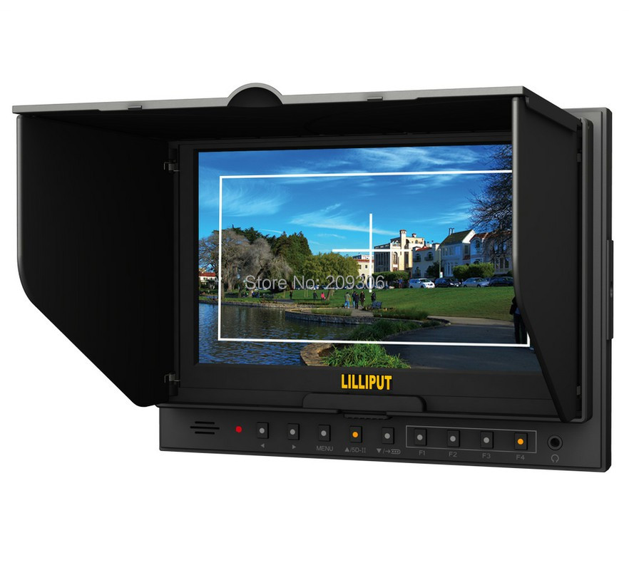 LILLIPUT 5D2 7 TFT LED digital video camera monitor field monitor for canon 5D-II with HDMI input