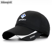 XdanqinX Adjustable Size Youth Mens Baseball Cap Adult Womens Ponytail Letter Caps NEW Couple Fashion Brands Hat Snapback