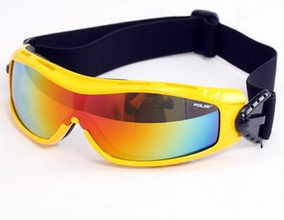 POLISI Outdoor Sports Ski Snowboard Skate Goggles UV Protection Motorcycle Snowmobile Goggle Men Women Skiing Snow Eyewear