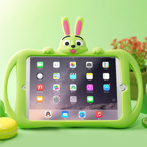 Image 2 - Детский чехол для iPad 2, 3, 4, мягкий силиконовый чехол подставка для планшета для ipad 9,7 дюйма 2017, 2018, mini 5, 4, 3, 2, 1, Air 2, 3, pro10.5