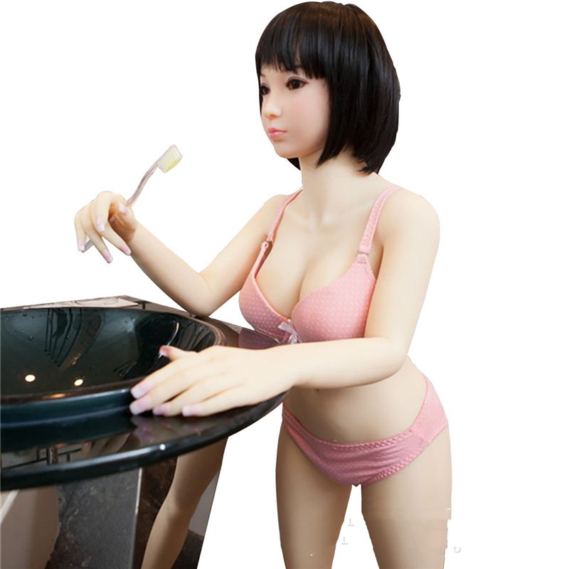 Cheap Price <font><b>Hot</b></font> <font><b>Sale</b></font> 100cm Japanese Beauty Real Silicone <font><b>Sex</b></font> <font><b>Dolls</b></font> for Men Big Ass Vagina Oral Anal TPE Rubber Woman # image