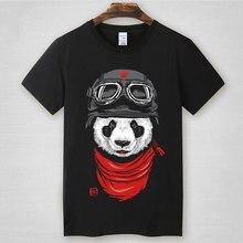 2017 new summer T-Shirts Shark Brand T shirt men FLY Panda Cotton Gasp Fitness Casual t shirt XS-8XL Plus Size Tee Shirt