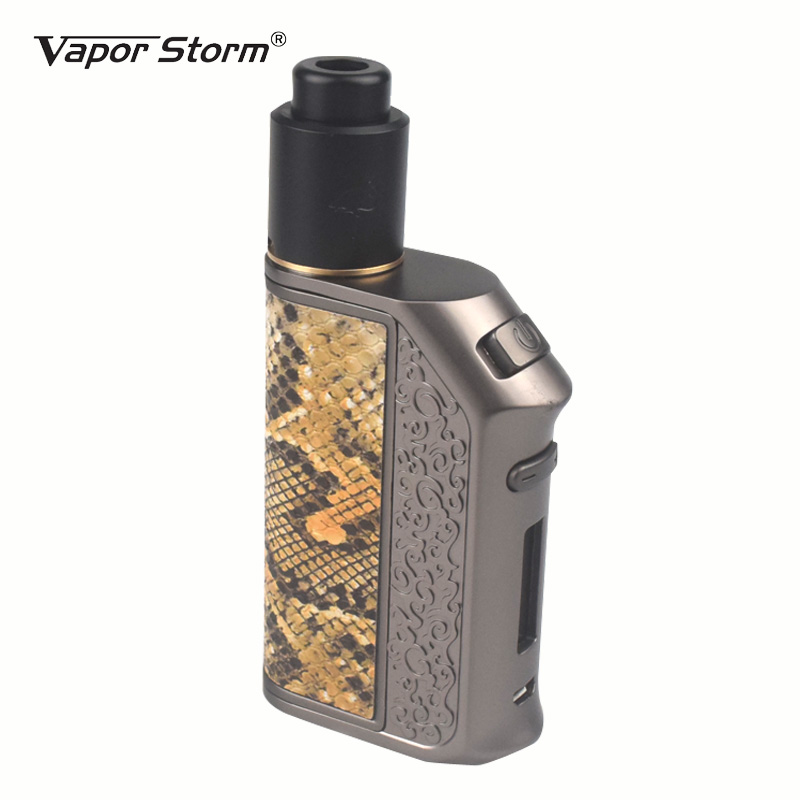 Electronic Cigarette Vapor Storm 200W TC Box Mod Flamingo RDA Tank Storm200 TC E Cigarette RDA RDTA Huge Vape Dual 18650 Battery original rofvape warlock z box 233w mechanical mod dual 18650 battery tc e cigarette box mod