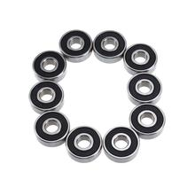 10pcs S608RS Bearing Replacement for Treadmills 8mm Inner Diameter + 22mm Outer Diameter + 7mm Thickness