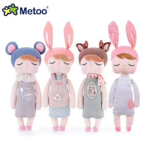 With Original Box New Style Unique Gifts Sweet Cute Angela Rabbit Doll Metoo Baby Plush Doll For Kids Bicycle Teapot Pudding
