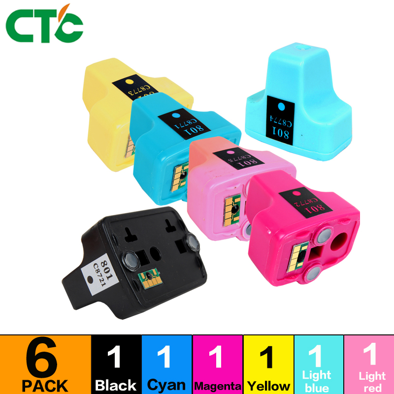 Compatible For 363 BK/C/M/Y/LC/LM 6PK Ink Cartridge For Photosmart 3210/3210v/3210xi/3213/3310/3313/8230/8238/8250 D7360