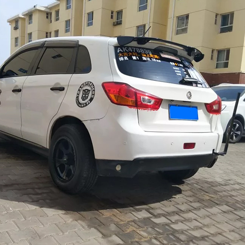2013 2014 2015 2016 2017 2018 Big spoiler for mitsubishi ASX High quality ABS rear by paint primer or DIY color