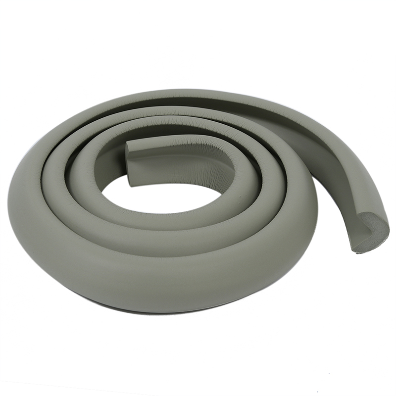 Baby Children Desk Table Edge Guard Protector Softener Foam Safety Cushion Strip Light Gray 2M