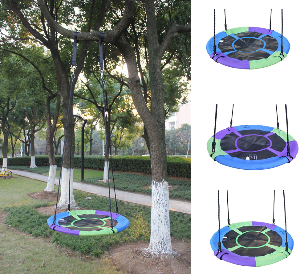 Toy Swings Assorted Colors Baby Tree Swing Giant 40 Saucer Tree Swing Baby Swing Chair With