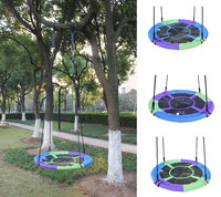 Toy Swings Assorted Colors Baby Tree Swing Giant 40 Saucer Tree Swing Baby Swing Chair With 400 LBS Weight Capacity New Style