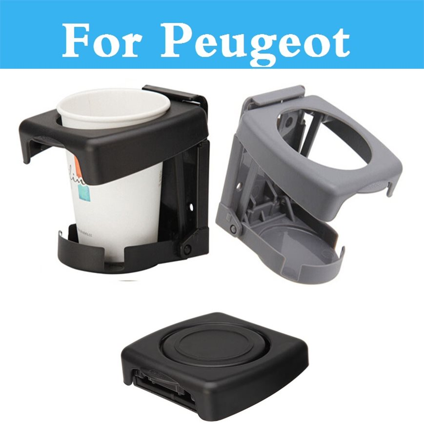 Voiture Boissons Café Porte-Gobelet pour Tasses Bouteille Stand De Boissons Support pour Peugeot 408 508 607 Ion Rcz 308 Gti 4007 4008 407