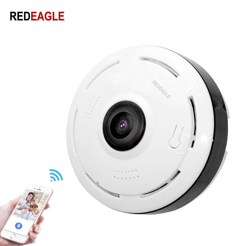 REDEAGLE 360 Degree 3D VR Panoramic Camera 960P 1080P Mini Dome Wireless Wifi IP camera Home Security Wi-FI Camera MAX 64GBREDEAGLE 360 Degree 3D VR Panoramic Camera 960P 1080P Mini Dome Wireless Wifi IP camera Home Security Wi-FI Camera MAX 64GB