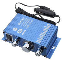 Auto Mini Hifi Stereo Audio Amplifier Roller Car Motorcycle Boat Home Amplifier Amp 12V With Car