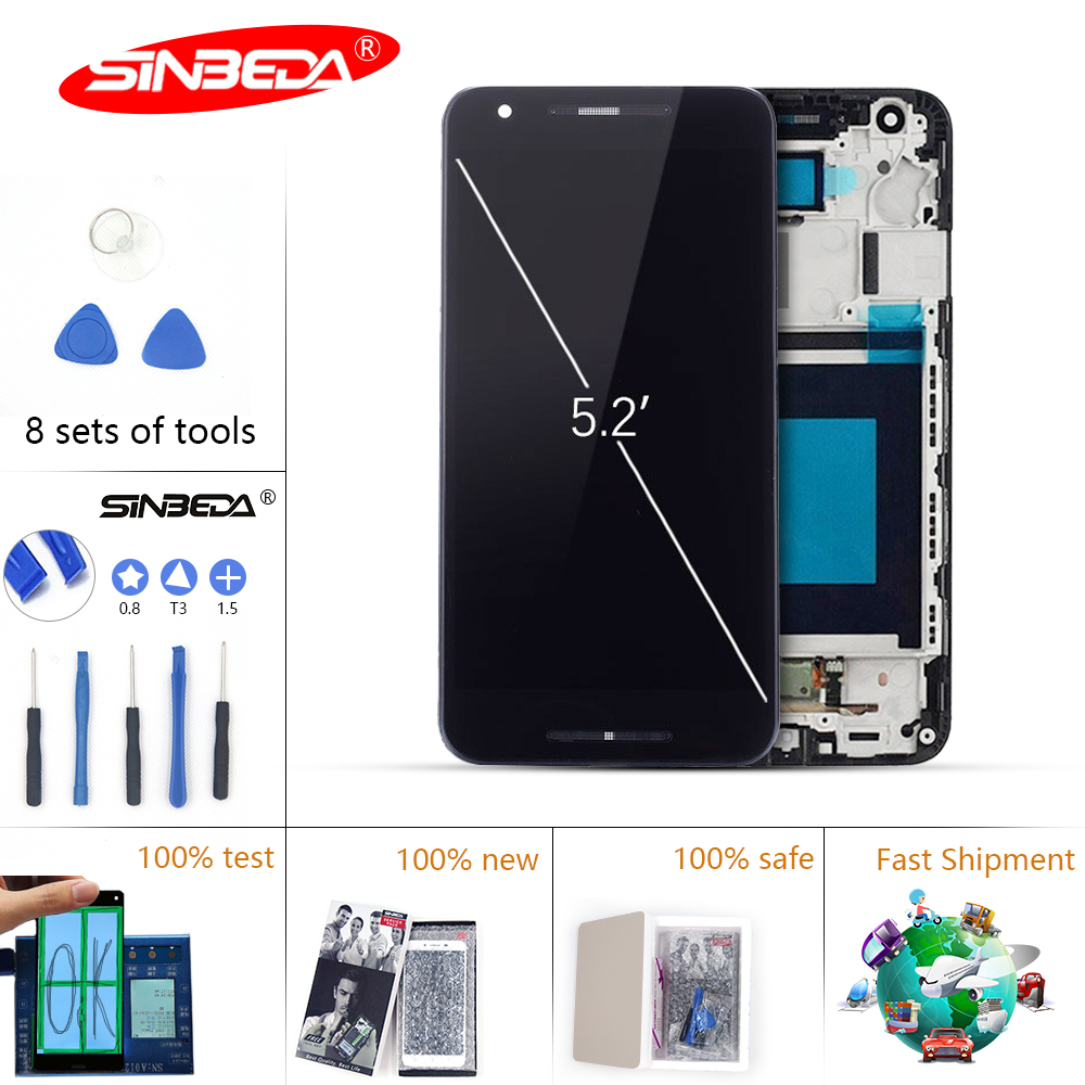5.2Sinbeda For LG Nexus 5X LCD Display Touch Screen with Frame Digitizer For LG Nexus 5x Display Nexus 5 X H790 H791 H798 LCD#5.2Sinbeda For LG Nexus 5X LCD Display Touch Screen with Frame Digitizer For LG Nexus 5x Display Nexus 5 X H790 H791 H798 LCD#