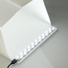 Đèn LED Dây 20CM 35CM Ảnh Đèn Hộp Mềm Chụp Đơn Giản Lều Tủ Quần Áo Lightbox Chụp Ảnh Hộp Phòng Thu phụ Kiện
