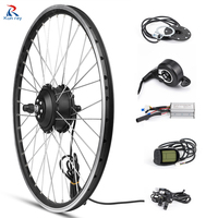 24V 250W Front Motor Wheel Electric Bike Conversion kit Brushless Gear Hub Motor 20 26 27.5 700C Inch Electric Bicycle Motor Kit