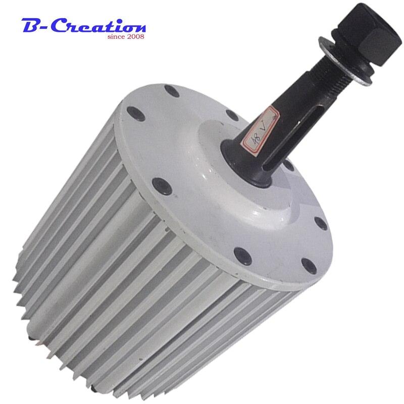A basso numero di giri 2 kw 2000 w 220 v 380 v brushless generatore a magnete permanente per il FAI DA TE generatore di vento
