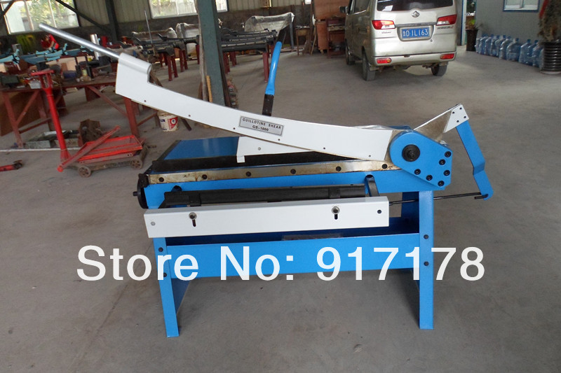 GS1000mm hand guillotine shear hand cutting machine manual shear machinery tools ultimate gs 1000