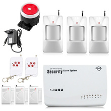 New Wireless/wired GSM Voice Alarm Systems Security Home Burglar Android IOS Auto Dialing Dialer SMS Call Remote Control Setting
