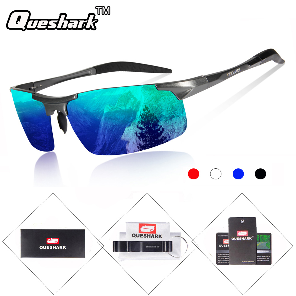 Men Polarized Sunglasses Driving Cycling Glasses Sports Outd