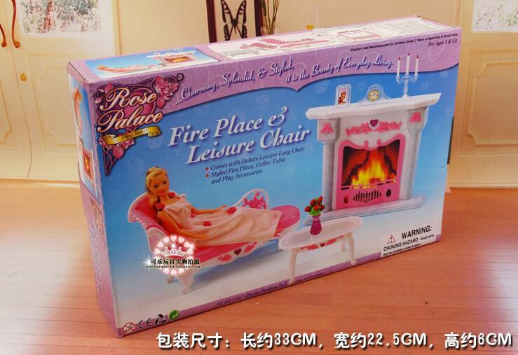 Livraison gratuite fille en plastique anniversaire Play Set meubles - Poupées et accessoires - Photo 4