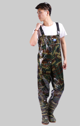 Angeln Regen Hosen Mann Winter Breathable Chest Waders 0,65 mm - Haushaltswaren - Foto 1