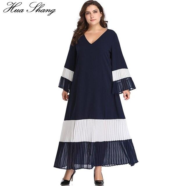 c834711c4698ca0 Женское летнее платье с длинным рукавом, v образным вырезом, Расклешенным  элегантное Плиссированное длинное в стиле пэчво