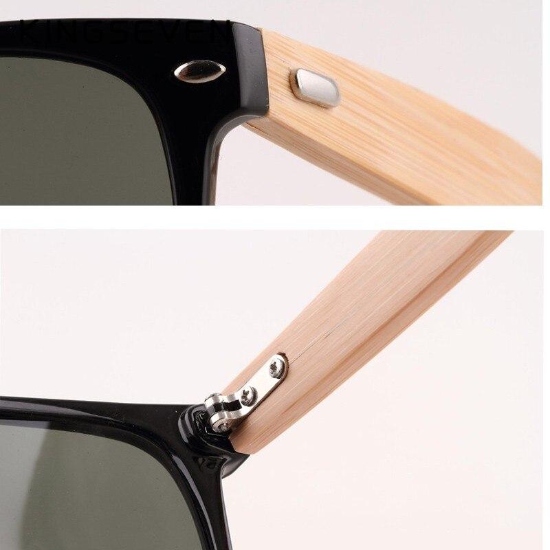 2016 New Bamboo Polarized Sunglasses Men Wooden Sun glasses Women Brand Designer Original Wood Glasses Oculos de sol masculino 21