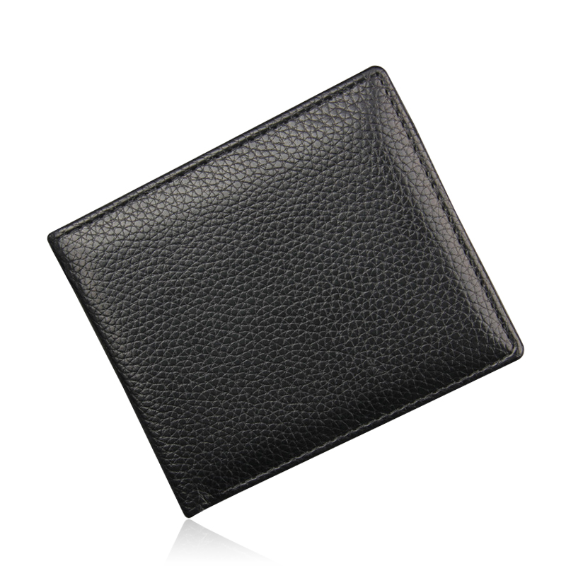 Famous Brand Leather Wallet Men Male Purse Carteira Masculina Small Mens Purse With Coin Pocket Black Short Money Bags