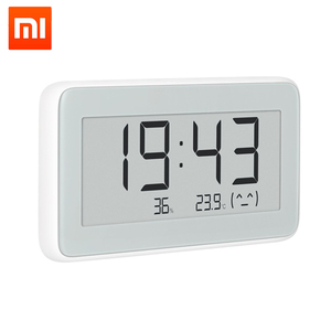 Image 5 - Xiaomi MiaoMiaoCe E Link INK  LCD Screen Digital clock Moisture Meter High Precision Thermometer Temperature Humidity Sensor