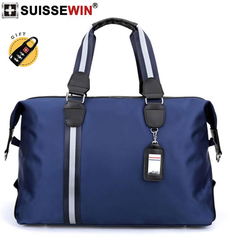 2019 Suissewin Marke 3 Farbe Nylon Wasserdichte Handtasche Laplop Tasche Hohe Kapazität Schulter Taschen Business Reise Für Männer Und Frau Rheuma Lindern