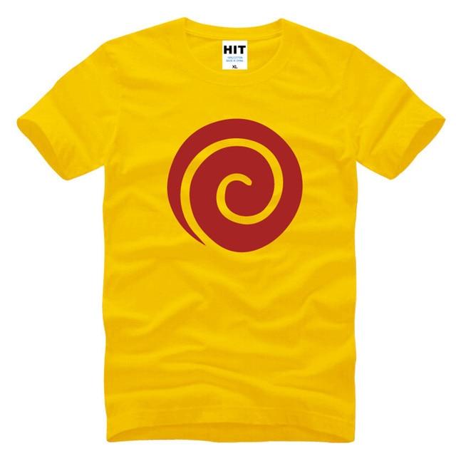 Naruto Clan Symbol Printed T Shirt