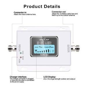 Image 2 - GSM 900 Mhz répéteur Band8 70dB affichage à cristaux liquides GSM 900 Mhz 2G 3g amplificateur de répéteur de Signal de téléphone portable cellulaire