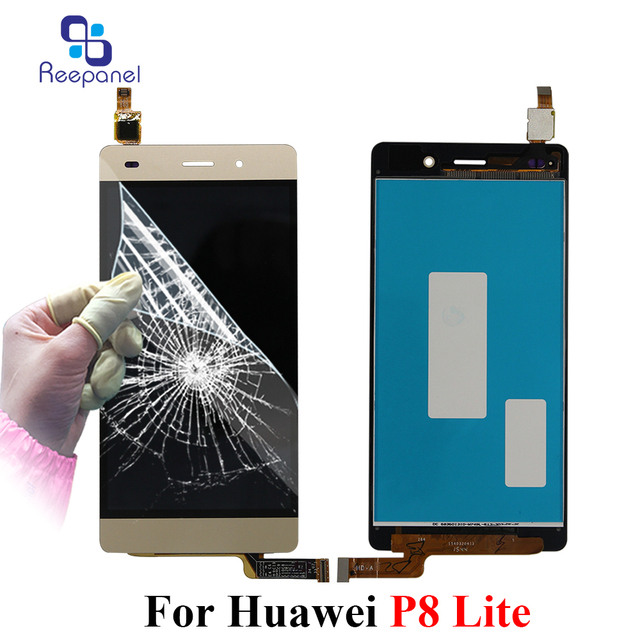 """5.0"""" LCD For HUAWEI P8 Lite Display Touch Screen Digitizer Replacement For HUAWEI P8 Lite ALE-L21 P8LITE L04 LCD Display Screen"""