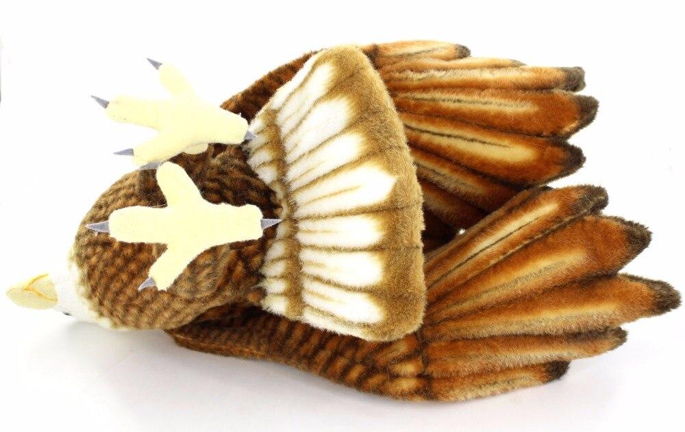 JESONN jouets en peluche animaux en peluche aigle pour cadeaux pour enfants, 94 CM - 4