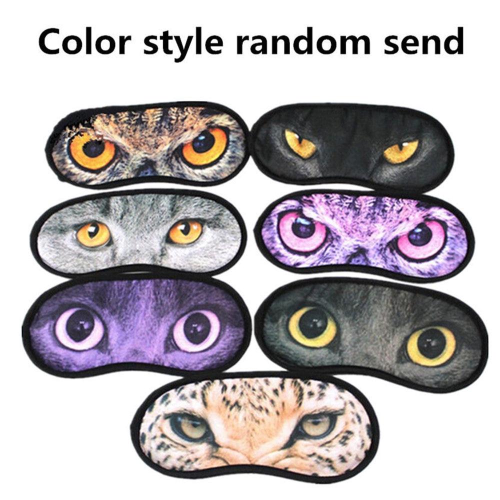 1 Stück Cartoon Geschenk Elastische Katze Dreidimensionale Reise Schlaf Hilfe Auge Maske Komfort Augenbinde Reise Zubehör Hot Gut FüR Energie Und Die Milz