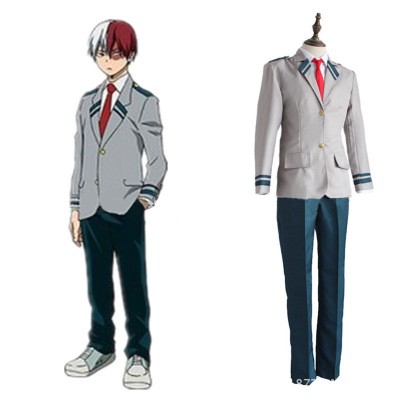 Anime Boku no Hero Academia Cosplay Costume My Hero Academia OCHACO URARAKA bakugo katsuki Todoroki Shoto School Uniform