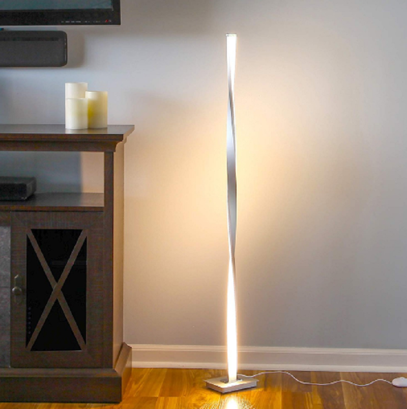 Post Modern Simple Led Floor Lamp Bedroom Luxury Iron