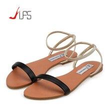 ผู้หญิงG Ladiatorรองเท้าแตะ2016ฤดูร้อนมองลอดนิ้วเท้ารองเท้าส้นเตี้ยแฟชั่นรองเท้าลำลองผู้หญิงรองเท้าชายหาดพลิกFlops Z Apatos Mujer Verano