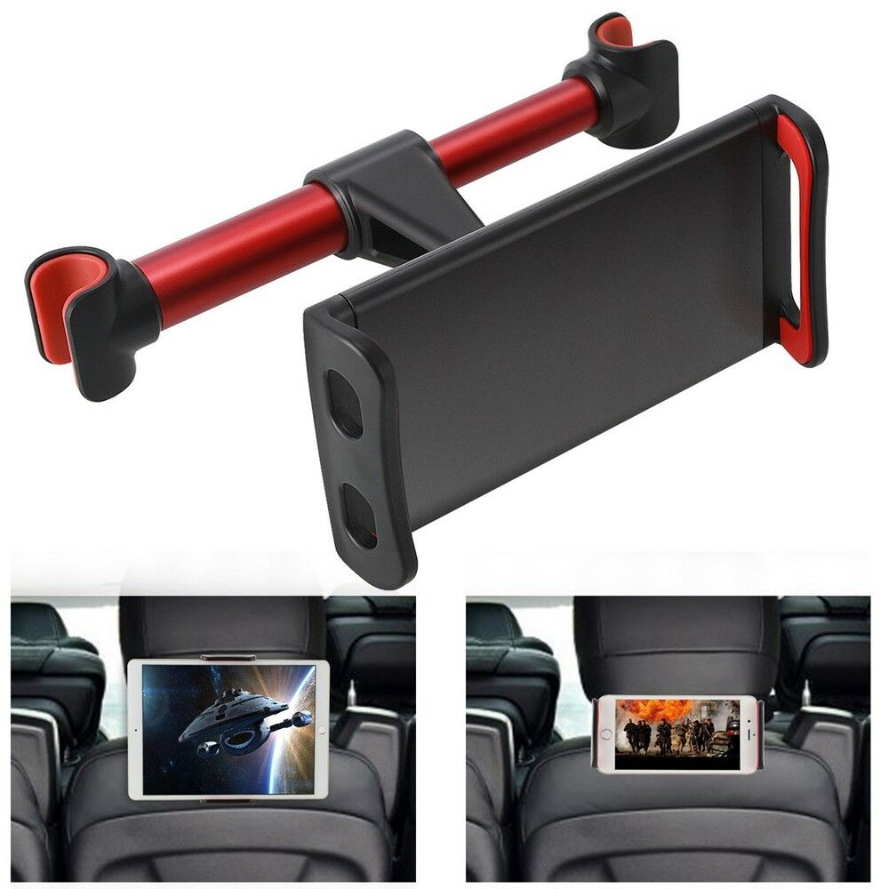 Universal 360° Car Back Seat Headrest Stand Mount Holder For iPad Phones Tablet