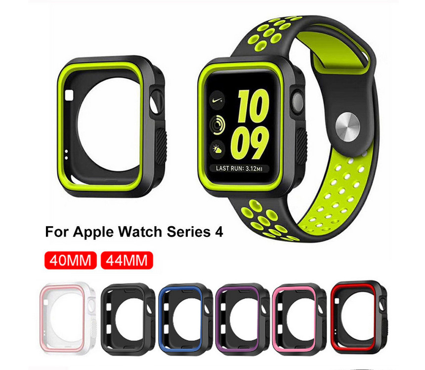 Screen-Protector Apple Watch Protective-Film Tempered-Glass for 3D Full-Cover-Case 38mm