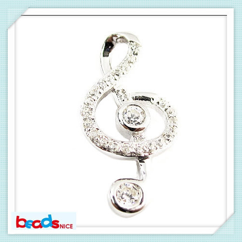 ID26214 charm pendant jewelry 925 sterling silver pendants musical pendants