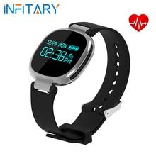 E08 muñequera Reloj Inteligente IP67 Muñeca Relojes Deportivos para Hombres mujeres para iOS Android Heart Rate Monitor Remoto de Captura de Llamada recordatorio
