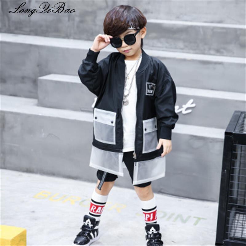 Kinder Jacke 2018 Neue Herbst Jungen Auswärtige Casual Windjacke Männlichen Baby Großer Junge Koreanische Version Der Trend Der Kinder Clo