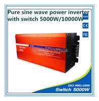 5000W Pure Sine Wave Inverter DC24V To AC220V Grid Tie Inverter Solar Power Inverter With Auto