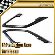 ЭПР Стайлинга Автомобилей Углеродного Волокна Внутренняя Ручка Двери Тянуть Surround Для Nissan R35 GTR Автомобиль Аксессуары Гонки