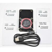 proxmark3 develop suit 3 Kits proxmark NFC RFID reader writer HF LF antenna SDK UID T5577 changeable card copier clone crack