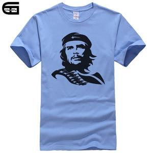 2018 New Che Guevara T Shirt Men Fashion Short Sleeve Cotton Ernesto Guevara Male T-Shirt Cool Tees Casual Tops Camisetas T118(China)